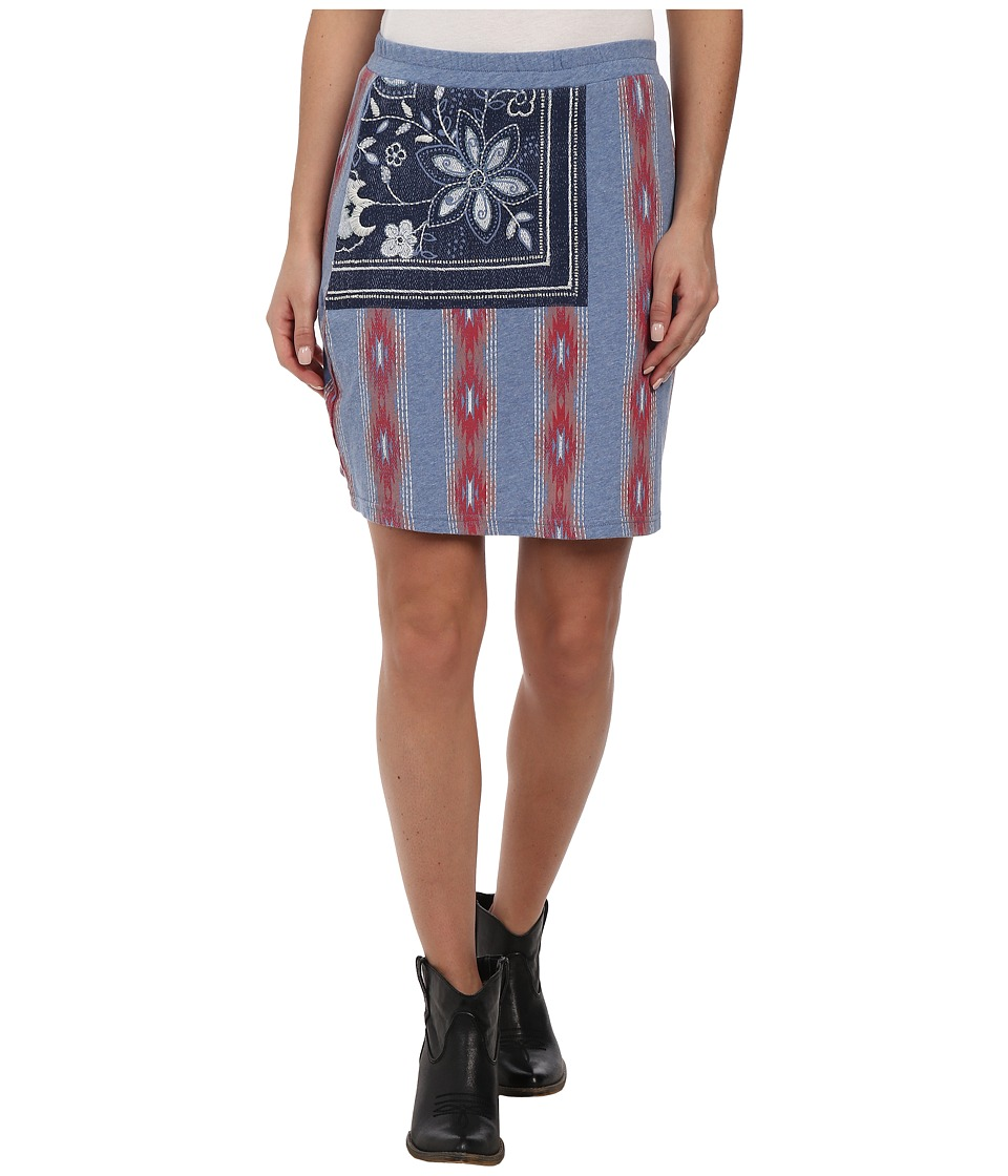 Double D Ranchwear - One Nation Skirt (Canteen Water) Women