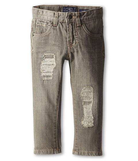 Lucky Brand Kids - Iggy Cooper Slim Jean (Toddler) (Charcoal Wash) Boy