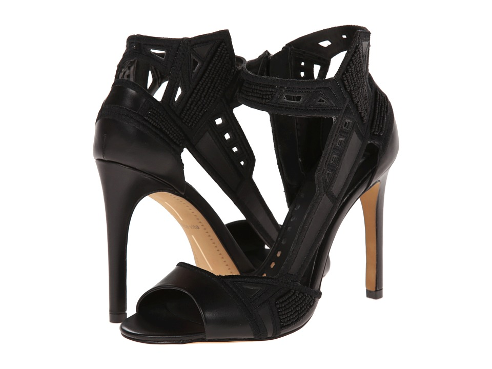 Dolce Vita - Havoc (Black Leather) High Heels