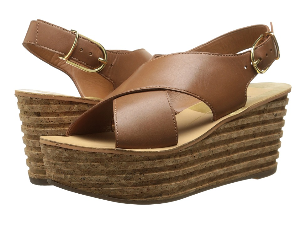 Dolce Vita - Maize (Brown Leather) Women's Wedge Shoes