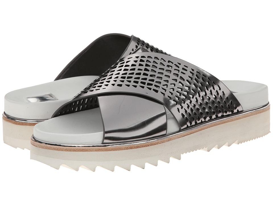 Dolce Vita - Shaye (Dark Silver Specchio Leather) Women