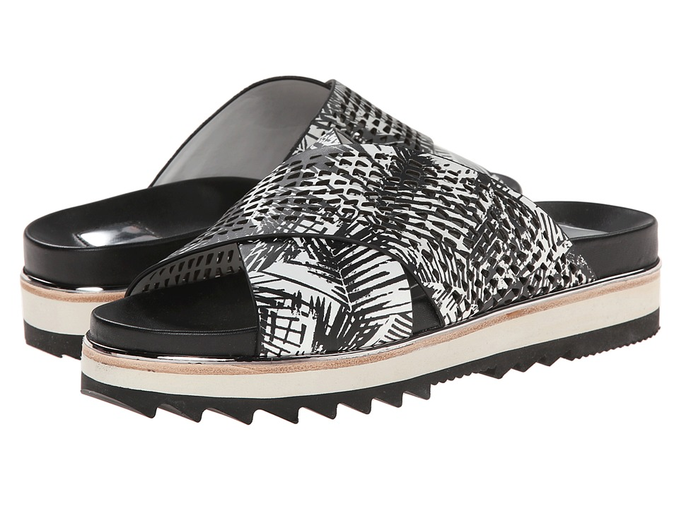 Dolce Vita Shaye (Black/White Palm Print Leather) Women