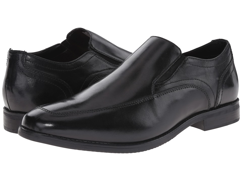Rockport - Style Purpose Moc Slip-On (Black) Men's Slip on Shoes