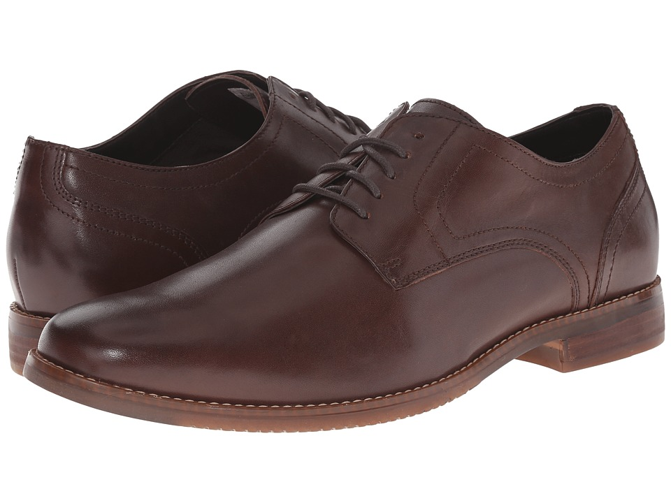 Rockport Style Purpose Plaintoe (Dark Brown) Men