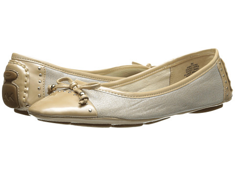 Anne Klein - Buttons (Natural Linen 1) Women's Flat Shoes