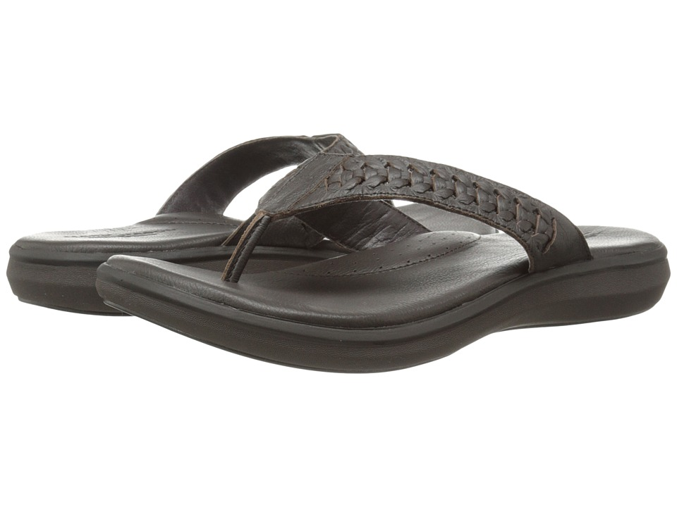 Mark Nason - Bayside (Dark Brown) Men's Sandals