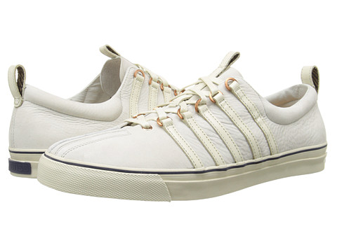K-Swiss by Billy Reid - Arlington NL (Whisper White/Navy) Men's Shoes