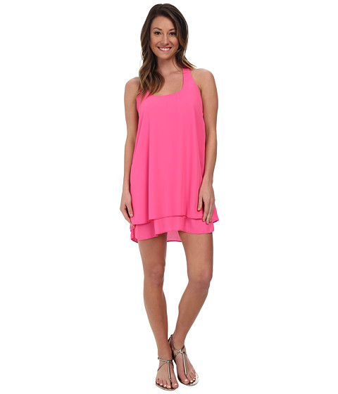 Lucy Love - Bow Back Dress (Pink Lotus) Women's Dress