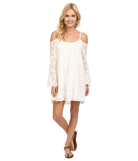 Lucy Love - Lace Hollie Dress (Really White) Women
