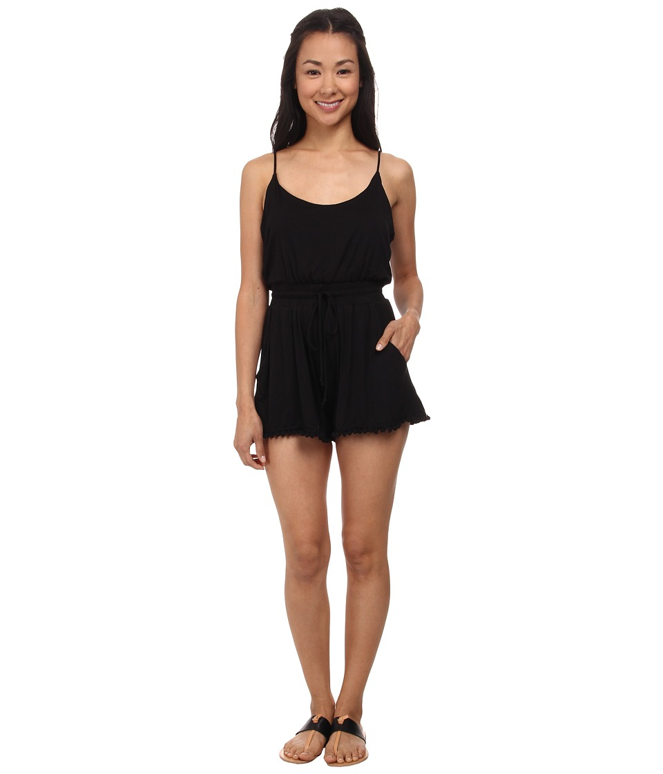 Lucy Love - Riley Romper (Black) Women