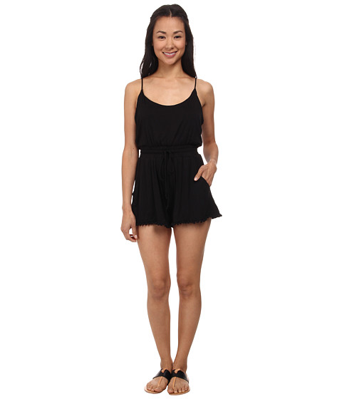 Lucy Love - Riley Romper (Black) Women's Jumpsuit & Rompers One Piece
