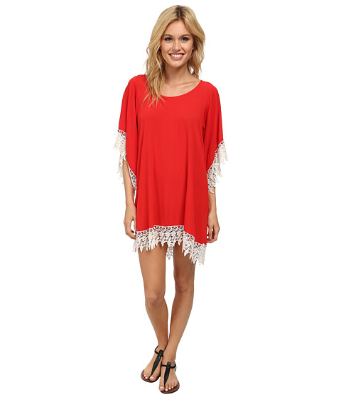 Lucy Love - In Heaven Tunic (Indian Red) Women