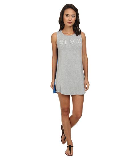 Echo Design - Beaded Beach T-Shirt Tunic Cover-Up (Ocean) Women's Swimwear