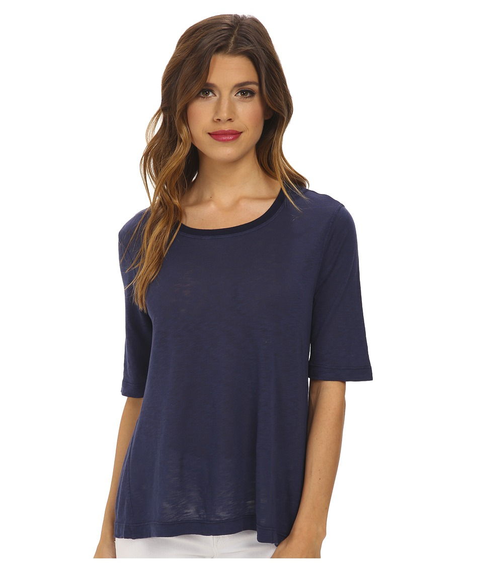 Splendid - Slub Tee (Navy) Women's T Shirt