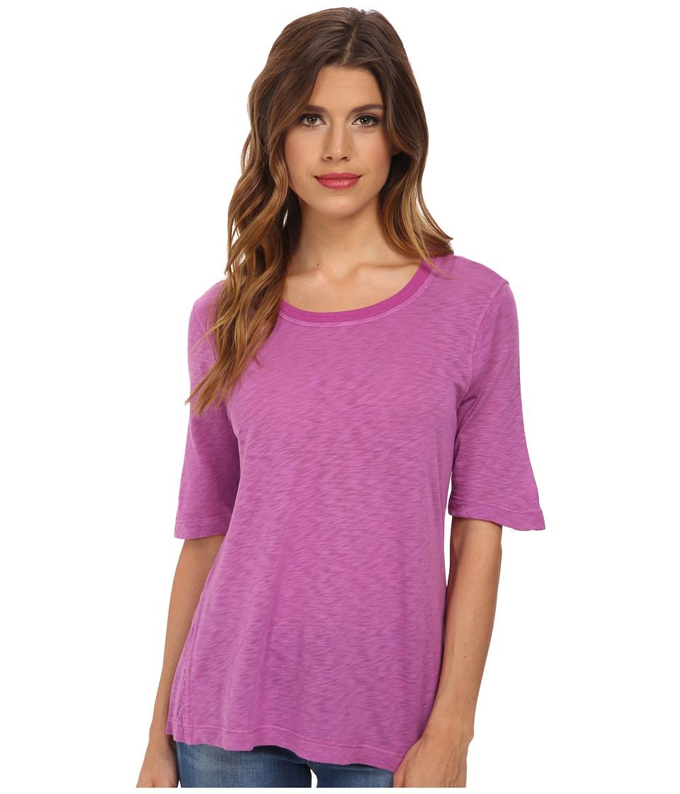 Splendid - Slub Tee (Deep Dahlia) Women's T Shirt