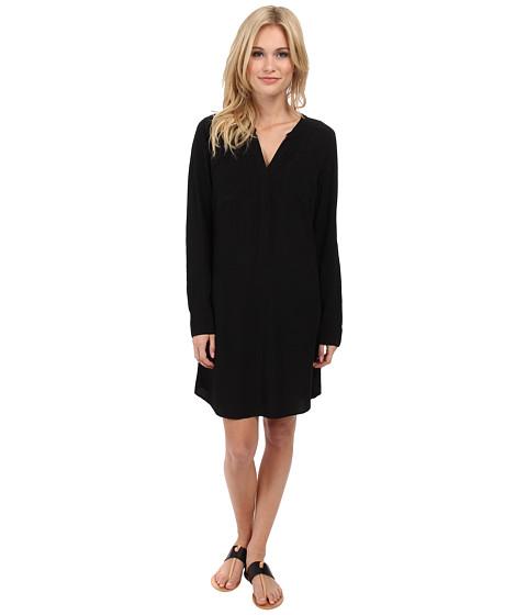 Splendid - Shirting Dress (Black) Women's Dress