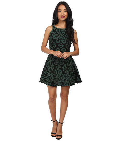 KAS New York - Phemipine Dress (Black/Green) Women