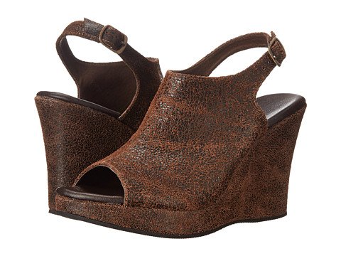 Cordani - Wellesley (Brown Crackle) Women's Wedge Shoes