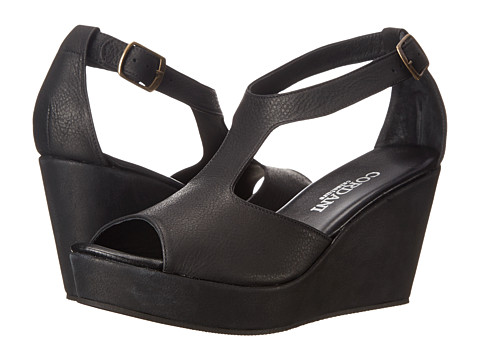 Cordani - Flynn (Black Antique) Women's Wedge Shoes