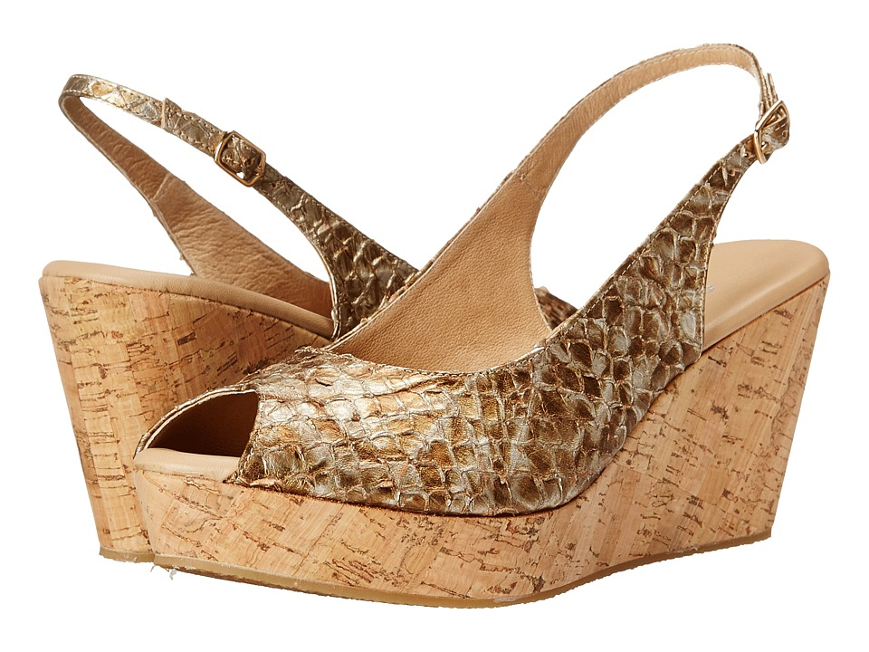 Cordani - Fabrice (Gold Python) Women's Wedge Shoes