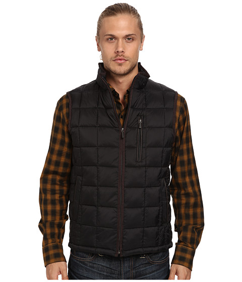 Rainforest - Quilted Vest w/ ThermoLuxe Insulation (Black) Men