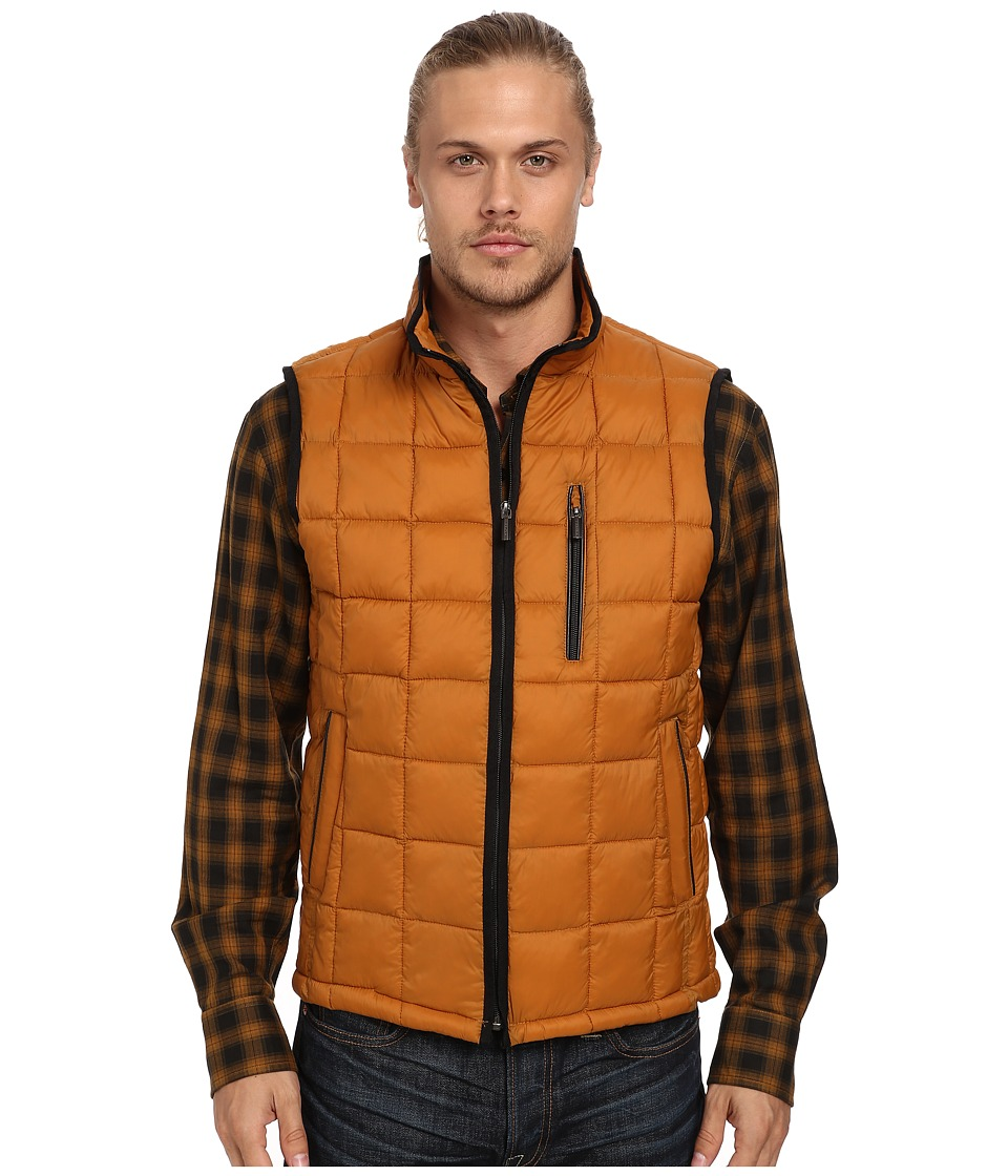 Rainforest - Quilted Vest w/ ThermoLuxe Insulation (Curry) Men
