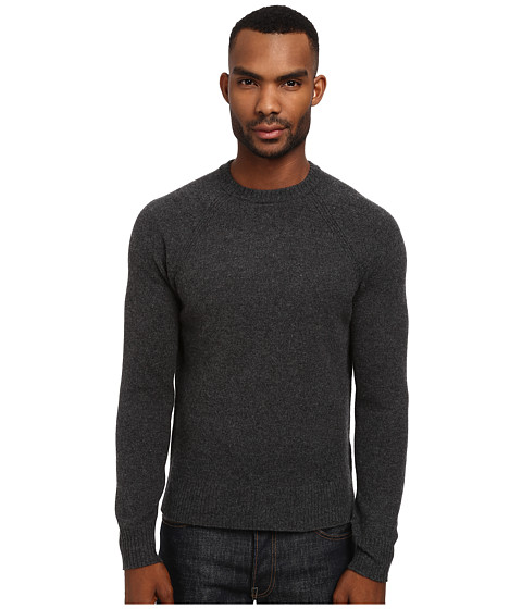 Jack Spade - Spencer Crew Neck (Charcoal) Men's Clothing