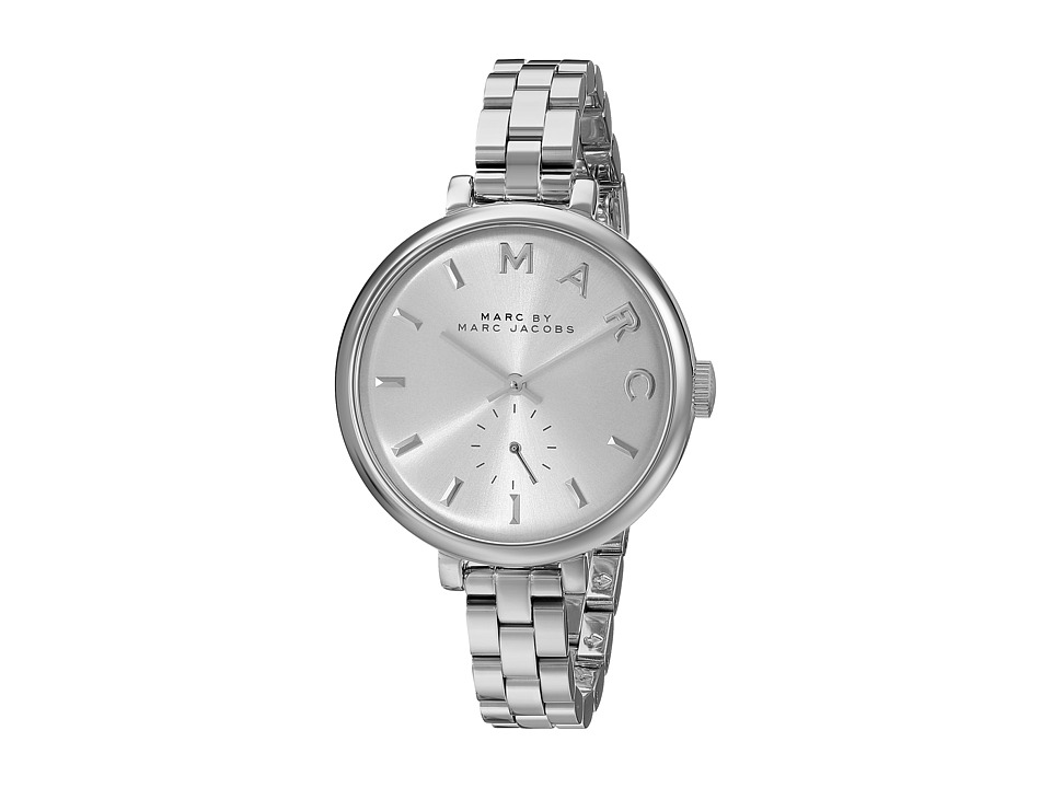 Marc by Marc Jacobs - MBM3362 - Slim Baker (Silver) Watches