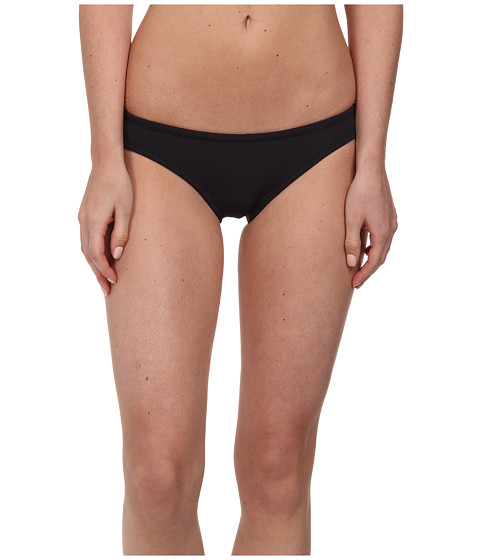Roxy - Optic Nature Surfer Bottom (True Black) Women's Swimwear
