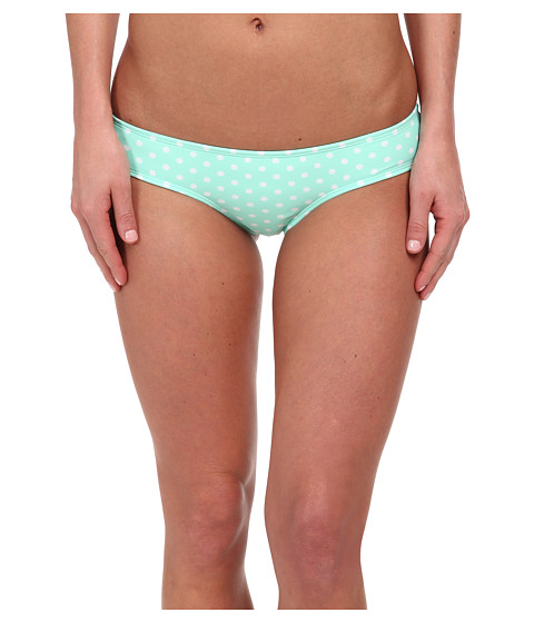 Roxy - Optic Nature Cheeky Mini Bottom (Optic Nature Small Cabbage) Women's Swimwear