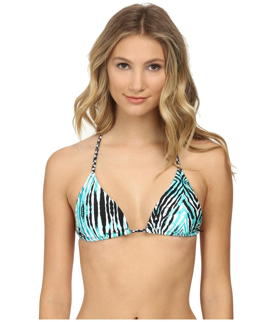 Volcom - Wild Marks Triangle (Blue Drift) Women's Swimwear