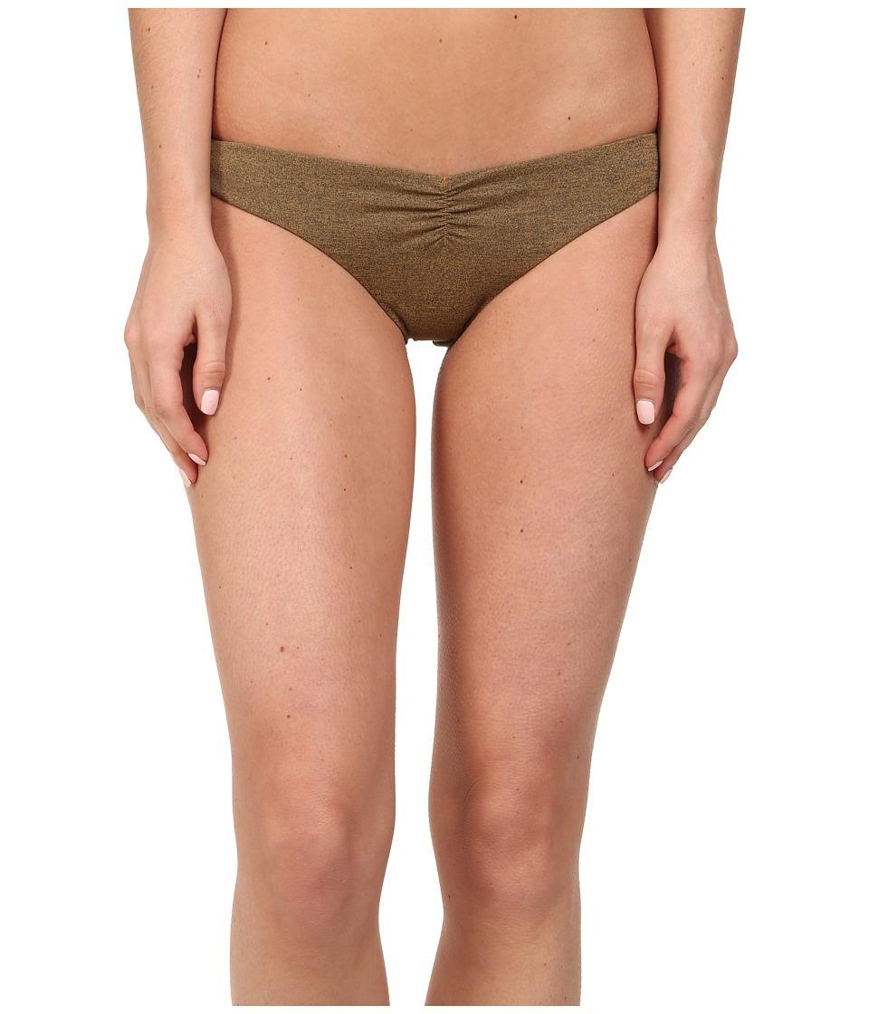 Volcom - Smoke Signals V Bottom (Bear Brown) Women's Swimwear