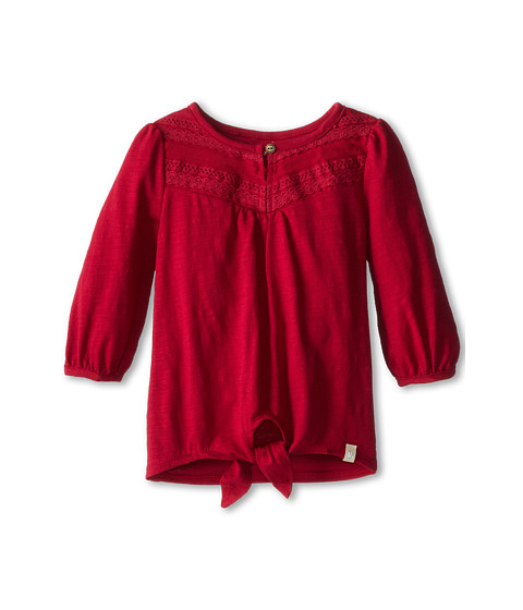 Lucky Brand Kids - Feline Top (Big Kids) (Persian Red) Girl