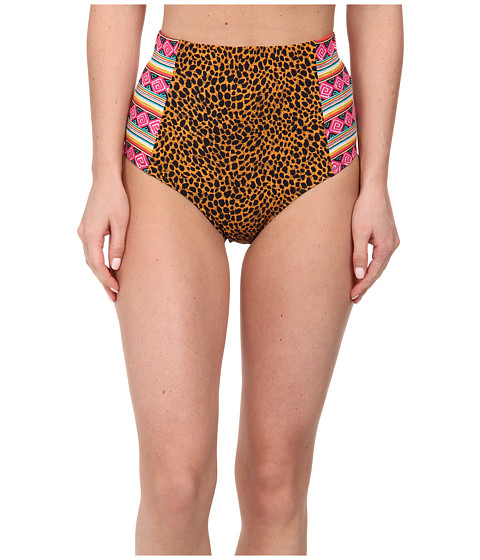 Volcom - Native Tracks High Waist (Black) Women's Swimwear