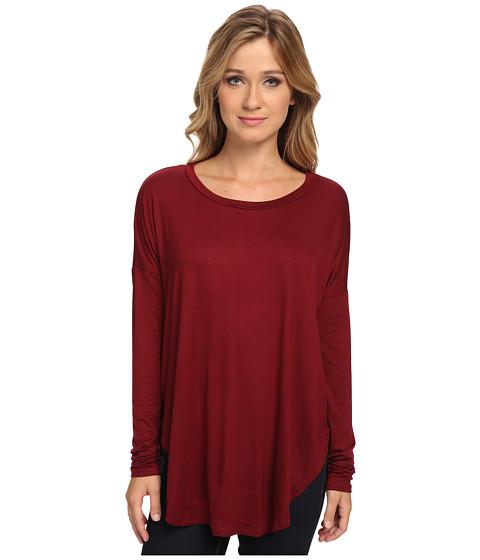 Culture Phit - Catrina Top (Burgundy) Women's Clothing