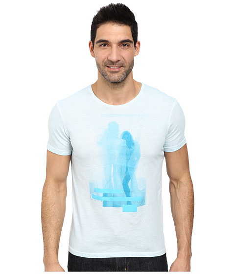 Calvin Klein Jeans - Calvin Girl Crew Neck Tee (Windchill) Men