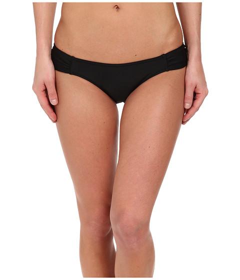 Volcom - Simply Solid Modest Fit Bottom (Black) Women's Swimwear