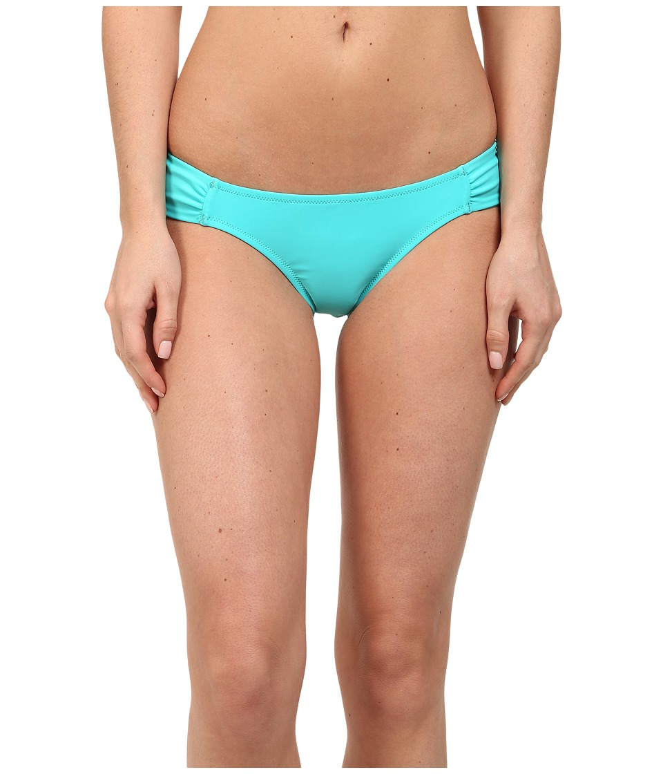 Volcom - Simply Solid Modest Fit Bottom (Blue Drift) Women's Swimwear