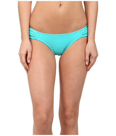 Volcom - Simply Solid Modest Fit Bottom (Blue Drift) Women's Swimwear
