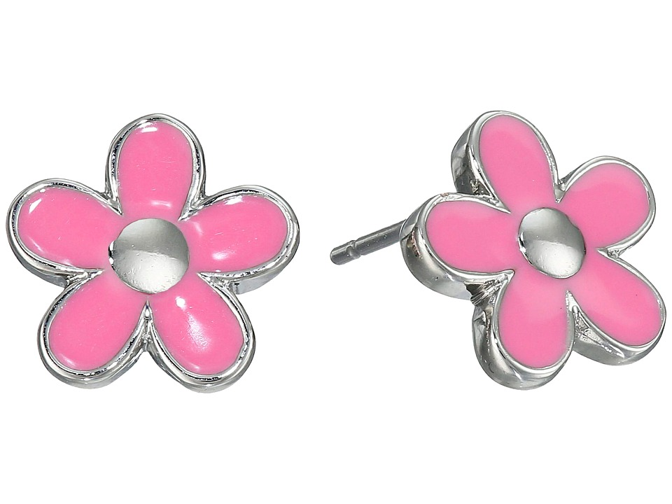 Marc by Marc Jacobs - Daisy Studs Earrings (Bright Rose) Earring
