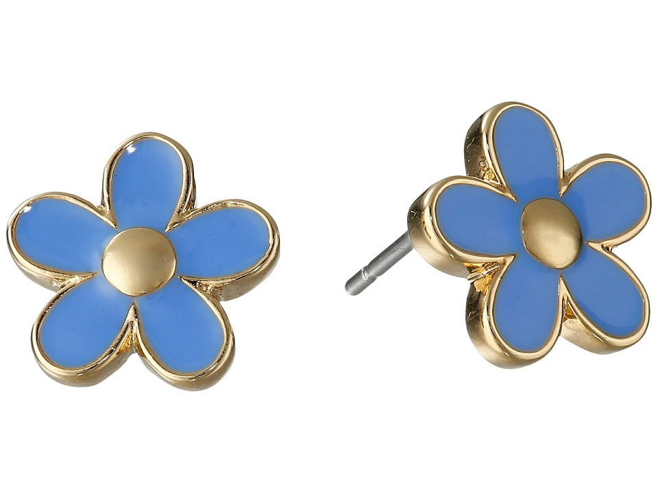 Marc by Marc Jacobs - Daisy Studs Earrings (Conch Blue) Earring