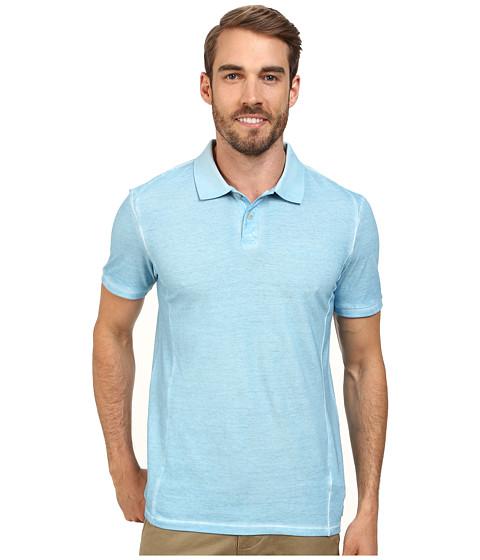 Calvin Klein Jeans - Pigment Gdye Pique Polo (Windchill) Men