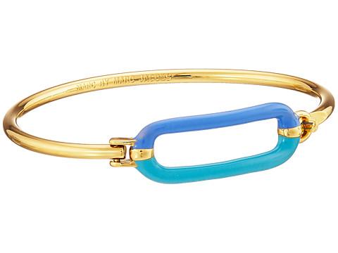 Marc by Marc Jacobs - Ferus Bubble Hinge Cuff Bracelet (Conch Blue Multi) Bracelet