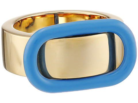 Marc by Marc Jacobs - Ferus Enamel Buckle Up Ring (Conch Blue) Ring