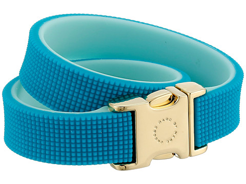 Marc by Marc Jacobs - Key Items Snap It Up Silicone Bracelet (Wintergreen Multi) Bracelet