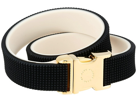 Marc by Marc Jacobs - Key Items Snap It Up Silicone Bracelet (Black Multi) Bracelet