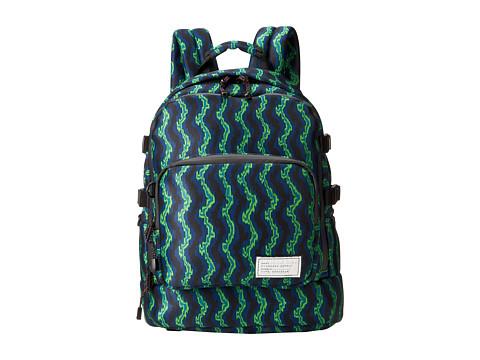 Marc by Marc Jacobs - Printed Neoprene D-Lux Backpack (Jasmine Green Multi) Backpack Bags
