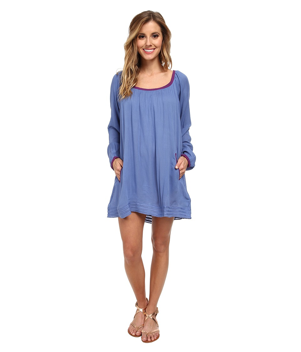 Roxy - Sweet Tropics Dress Cover-Up (Chambray 2) Women