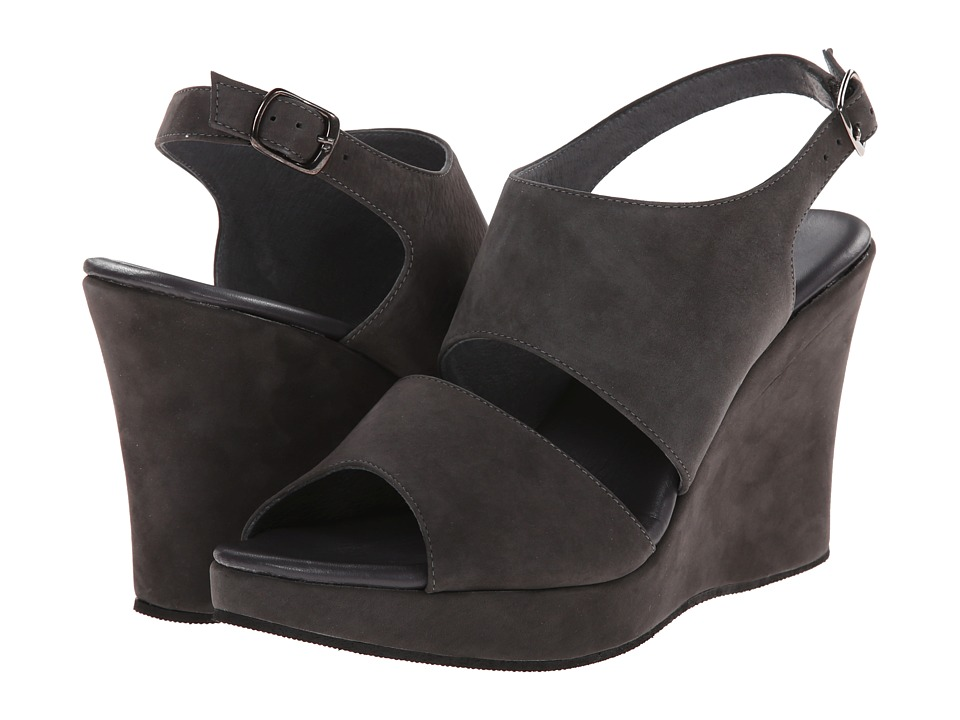 Cordani - Wanita (Grey Nubuck) Women's Wedge Shoes
