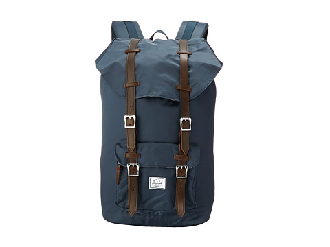 Herschel Supply Co. - Little America (Navy Nylon) Backpack Bags